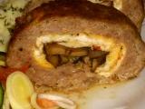 Roládky s vaječnou omeletou