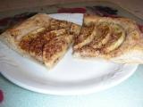 Rýchly jablkový koláč s obrubou