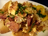 Zapečené prekladané zemiaky