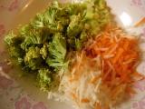 Zeleninová polievka s pangasom /Polévka zeleninová s pangasem