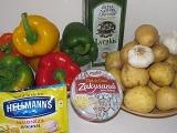 """""""Ľahká večera či luxusná príloha"""": Zemiakový šalát s pečenými paprikami"""