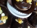 Bananovo-cokoladove muffiny a vcielka Maja