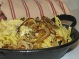Bavorské špecle so syrom a cibuľkou