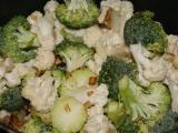 Brokolicovo - karfiolové pyré