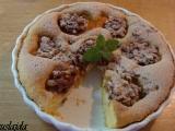 Brusnicovo-orechové jabĺčka v piškótovom ceste/Brusinkovo-ořechová jablíčka v piškotu
