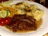 Hovädzie mäso s pórom /Hovězí maso s pórkem