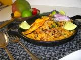 Indická kuchyňa - kuracie  Biryani