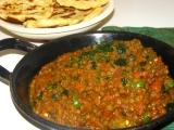 Šošovicové kari - Indická kuchyňa