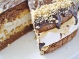 Karamelovo-penová torta