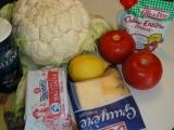 Karfiol so syrom a ančovičkami