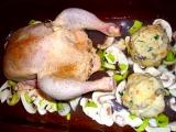 Kura s plnkou /Kuře s nádivkou