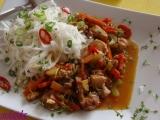 Kuracie mäso v pikantnej marináde /Kuřecí maso v pikantní marinádě se zeleninou