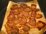 Mäsové guľky pečené, varené