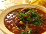 Mexická fazuľová polievka