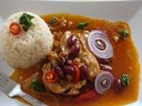 Mexické pikantné kura /Mexické pikantní kuře
