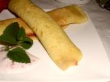 Palacinky s jahodovou marmeládou /Palačinky s jahodovou marmeládou