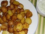 Pečené zemiaky s cibuľkou /Pečené brambory s cibulkou