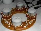 Perníkový svietnik /Perníkový svícen