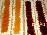 Piškótové rezy so želatínou /Piškotové řezy s želatinou
