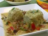 Prílohove zemiakové knedle s ovsenými vlockami a tymiánovou chuťou