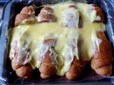 Pudingový múčnik z croissantov /Pudinkový koláč z croissantů