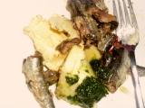 Rybia pomazánka s medvedím cesnakom /Rybí pomazánka s medvědím česnekem