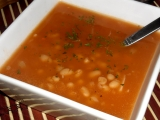 Rýchla fazuľová polievka /Rychlá fazolová polévka