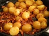 Šalát z nových zemiakov