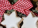 Škoricovo-mandlové hviezdičky