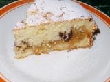 Smotanový jablkový koláč z remosky /Smetanová buchta s jablky z remosky