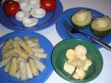 Špargľa s avokádovými vajcami