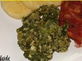 Špenát z mangoldu a listového špenátu