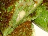 Špenátové palačinky se sýrem
