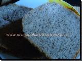 Tmavý chlieb s ľanom /Tmavý chléb se lnem