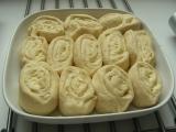 Vanilkový maslový slimáci /Vanilkové máslové  šneky