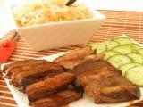 wok - kacacie prsia s porom a kapustou