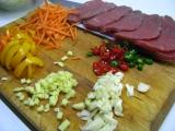 Wok - pikantné hovädzie mäso so sezamom