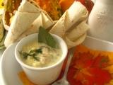 Biela hubová polievka