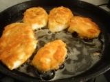 Chrumkave patizonove podkovicky plnene syrom / pecene na plechu v trube