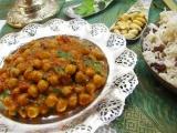 Cícerové kari s indickou ryžou