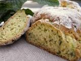 Domáci cuketový chlieb /Domácí chléb s cuketou, slunečnicovými semínky, sýrem a bylinkami