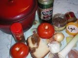 Fazuľová polievka s pivom (Soupe aux haricots secs)