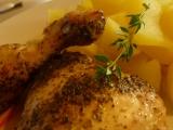 Majoránkové kura z remosky /Majoránkové kuře z remosky