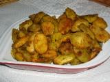 Pečené zemiaky s korením a strúhankouPečené brambory s kořením a strouhankou