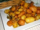 Pečené zemiačiky s hlivou /Pečené brambůrky s hlívou