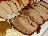 Pečený bôčik a kuracie prsia s korením /Pečený bůček a kuřecí prsa s kořením