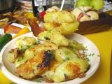 Pieskové pečené zemiaky