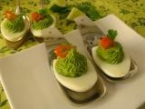 Plnené vajíčka avokádovou penou
