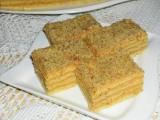 Řezy s karamelovým krémem