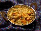 Sampinony s mrkvou na smotane